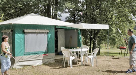 Camping Miel Bungalowtent Trigano