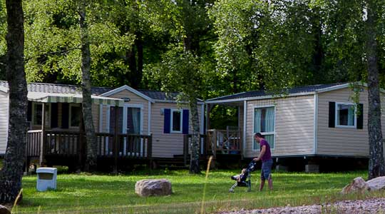Cottage Tribu Camping Lac de Miel