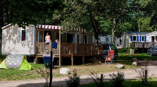 Camping Miel Mobilhome Cottage Riviera
