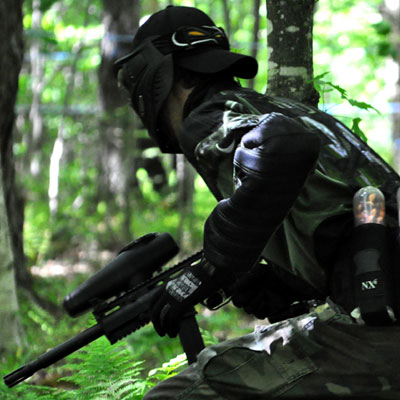 paintball en fôret